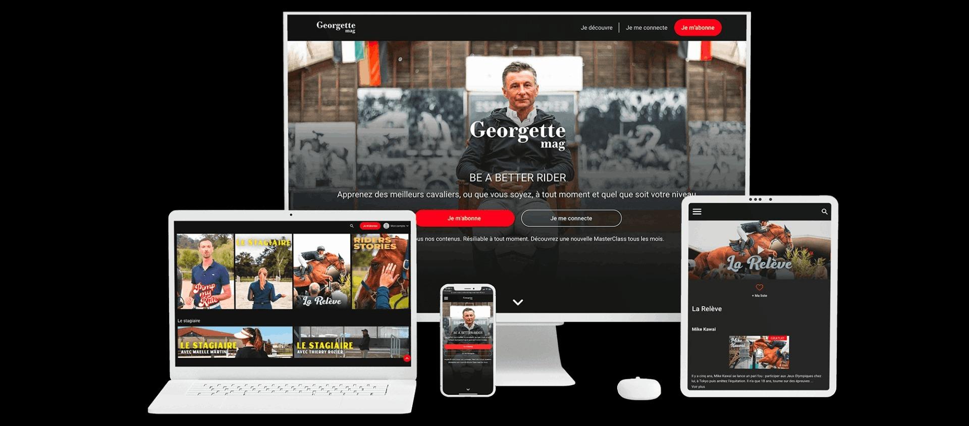 VOD Factory app in multiscreens