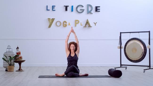 Yoga de la femme - Les éphémères du Tigre x lululemon