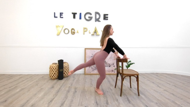Work out barre : Arabesque